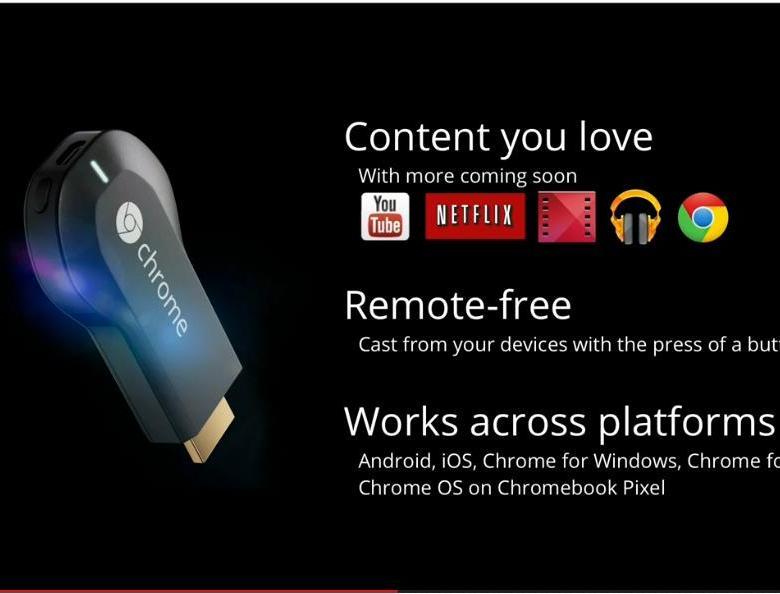 Chromecast, le nouveau gadget de Google