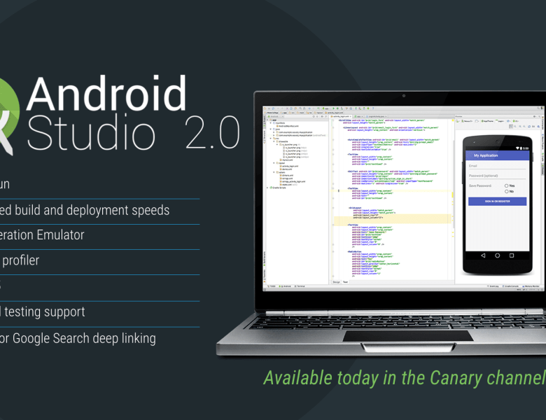 Android Studio 2.0 Preview est disponible
