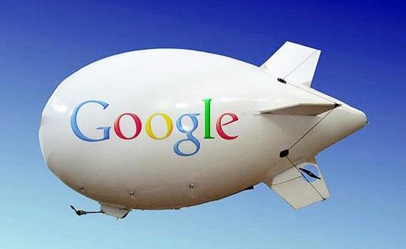 Google et ses dirigeables