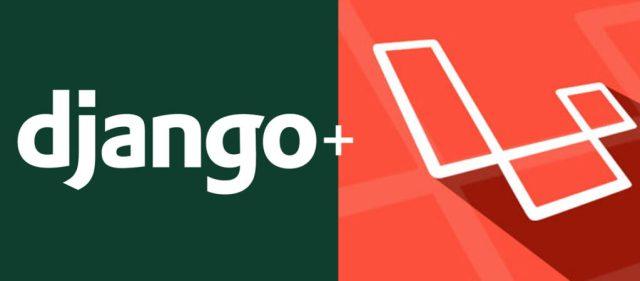 Django-vs.-Laravel