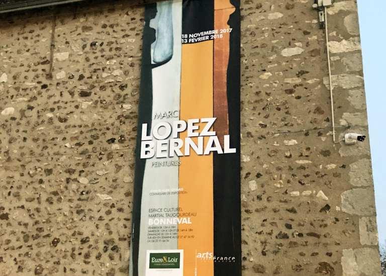 """2017 – Exposition """"Peintures"""" au centre culturel de Bonneval"""