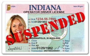 How Long Is My License Suspended for an Indiana DUI?