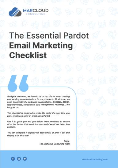 """, La liste de contrôle essentielle du marketing par e-mail de Pardot<span class=""""wtr-time-wrap after-title""""><span class=""""wtr-time-number"""">2</span> minutes de lecture</span>"""
