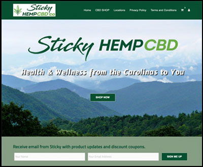 Sticky Hemp CBD