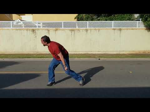 Cruzando la calle