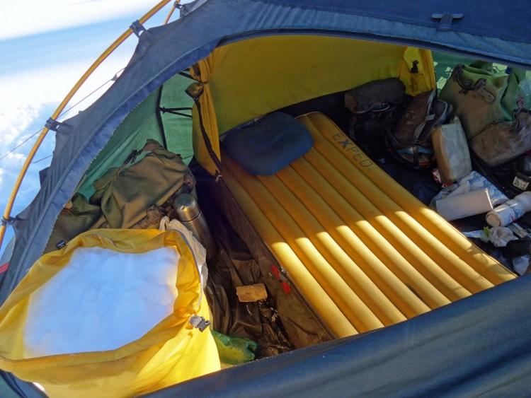 SynMat TT 9 LW im Zelt