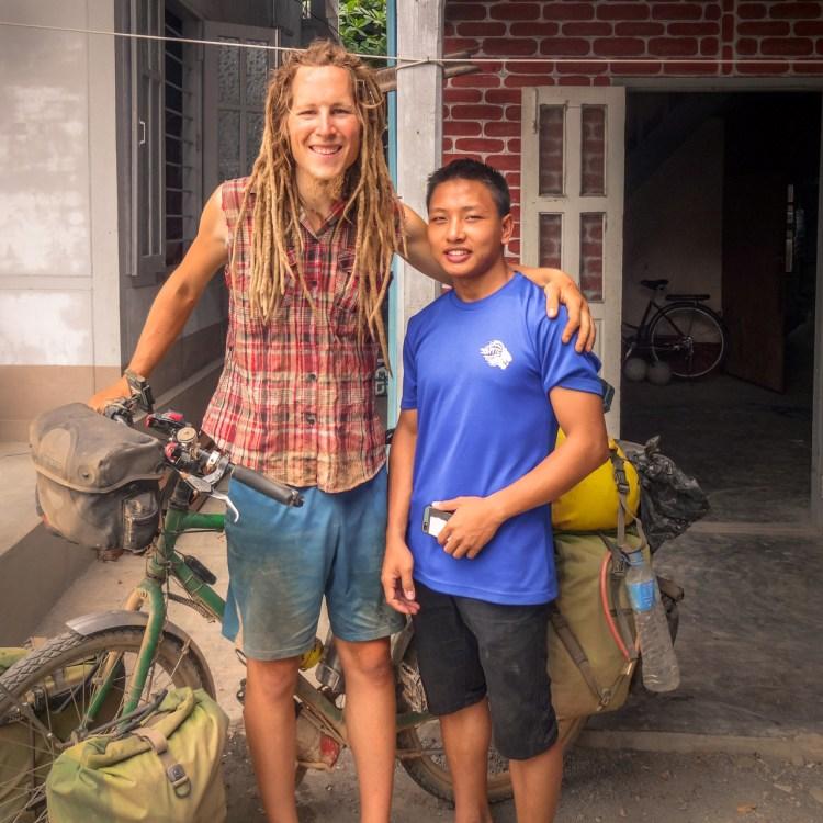 Hilfsbereitschaft in Myanmar