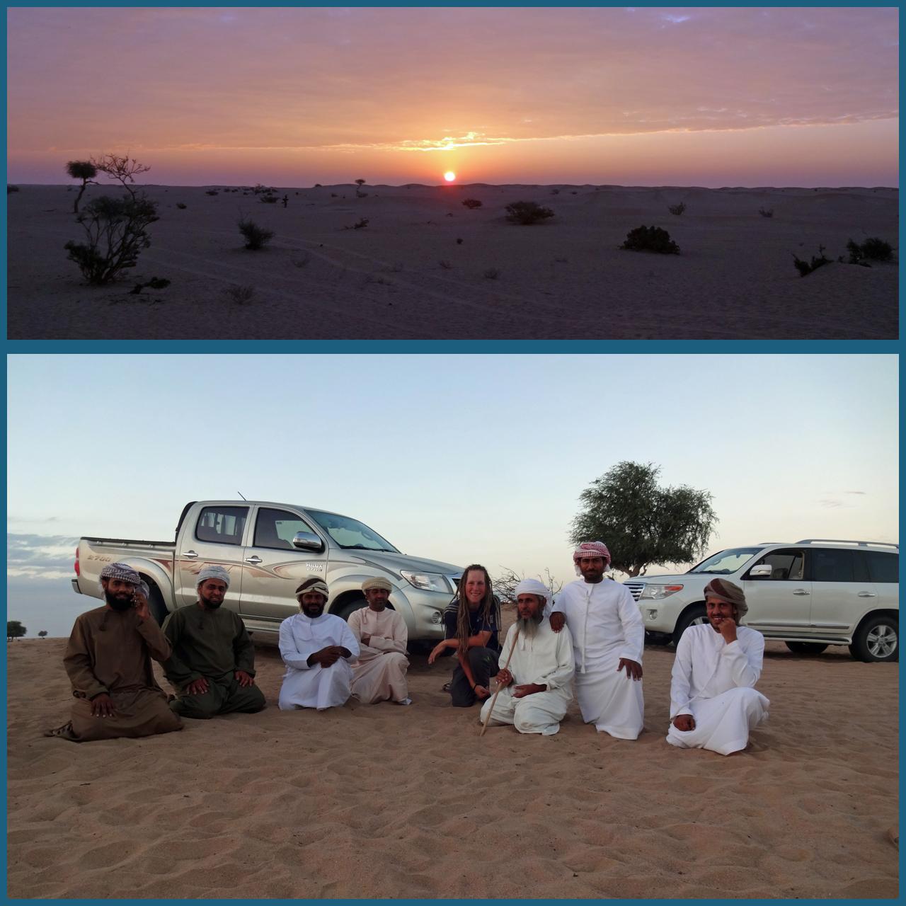Im Oman wurde ich an einem Abend in ein Camp in der Wüste eingeladen und erhielt so einige sehr interessante Einblicke.