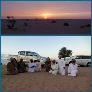 Gastfreundschaft in der Wüste (7. Dezember 2016)