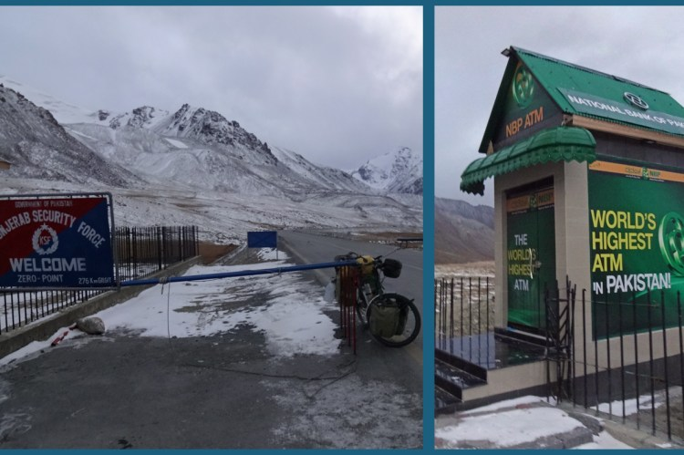 Khunjerab Pass in Pakistan