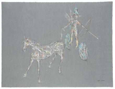 Amazyclope, 2007, Pastell, 49 x 63