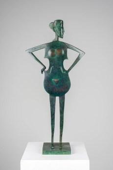 Geigenmuse. Bronze, 2017, H 40cm