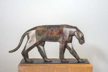 Pantera, Bronze, 2013, L 54 x B 5x H 27 cm