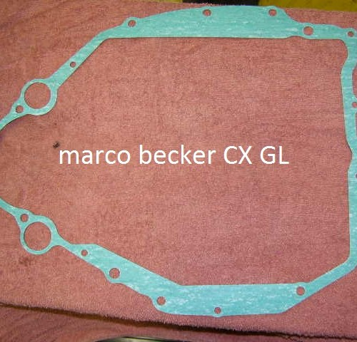 Achter deksel pakking imitatie. Geschikt voor alle CX en GL modellen
