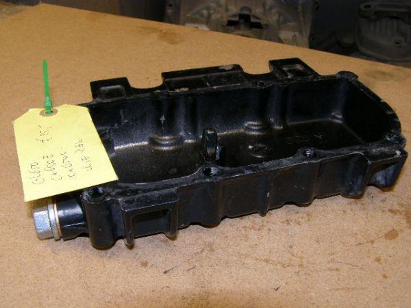 olie carter pan gl650 cx650e cx650c met olie aftap plug