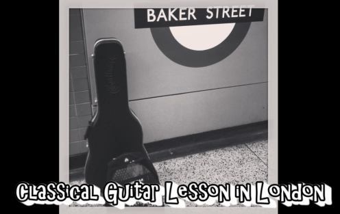 Classical Guitar Lesson in London - Golders Green - Willesden Green - Belsize Park - Finchley Rd and Frognal - Kilburn - West Hampstead - Guitar Lesson London