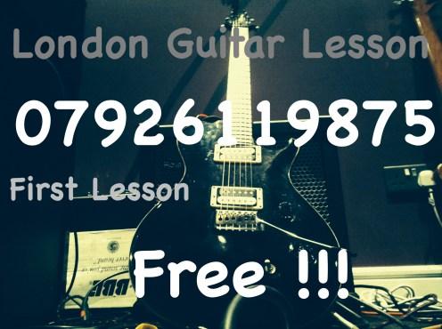 Learn Guitar in London - Electric, Acoustic and Classical Guitar Lesson in London - Marco Cirillo Guitar Teacher in London - Kilburn Kensington Central London