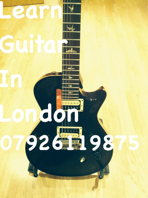 Learn Guitar in London - Electric, Acoustic and Classical Guitar in London - Marco Cirillo London Guitar Lesson