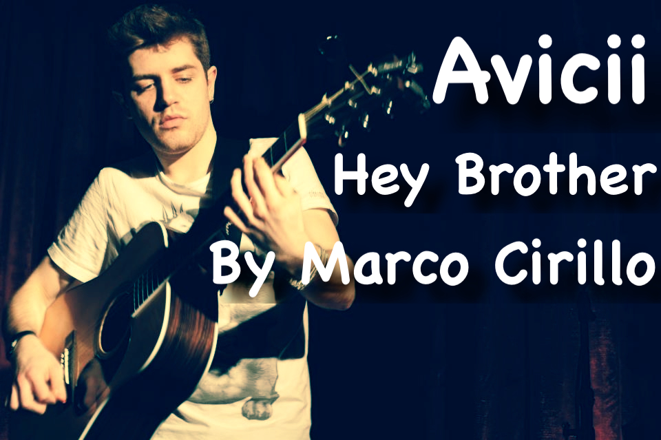 Avicii Hey Brother Guitar Lesson Chords and Tab by Marco Cirillo. Free Guitar Lesson Online. Learn Guitar in London -