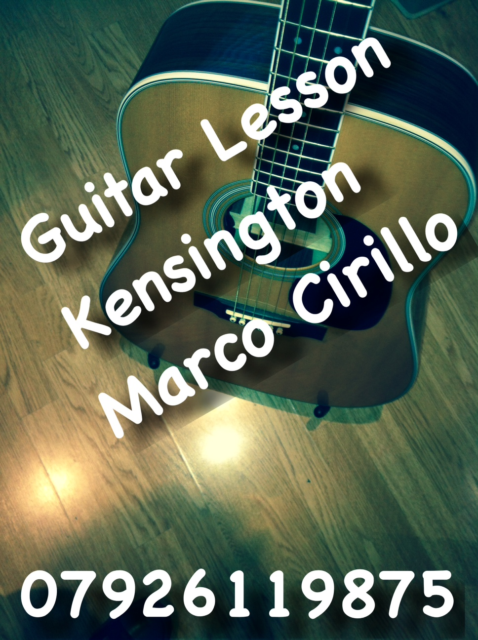 Guitar Lesson Kensington - Electric, Acoustic and Classical Guitar Lesson by Marco Cirillo Qualified Guitar Teacher based in London.