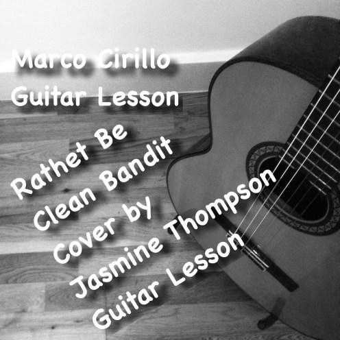 Rather Be Clean Bandit Guitar Lesson Intro Fingerstyle Technique. Jasmine Thompson Cover. Guitar Lesson Kilburn Central London Kensington