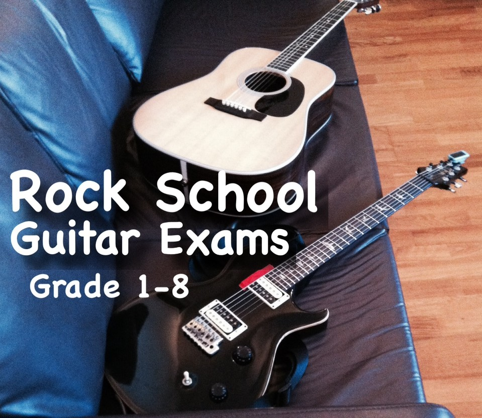 Rock School Guitar Exams in London with Marco Cirillo - Guitar Lesson in London Kensington Central London