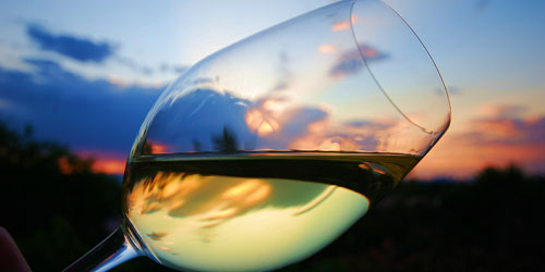 bicchiere di vino bianco - fonte Internet -