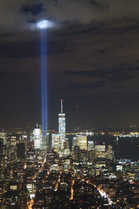 Con le scarpe negli USA - NY Skyline del 10 settembre 2016
