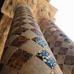 particolare delle colonne del chiostro