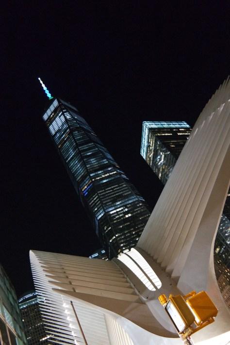 La nuova stazione del WTC e la Freedom Tower
