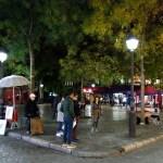 Montmartre - Place du Tertre si svuota