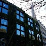 Giardini verticali ornano un palazzo nel lungo Senna
