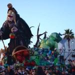 """""""Ultima Biancaneve"""" il carro che ha vinto il Carnevale."""
