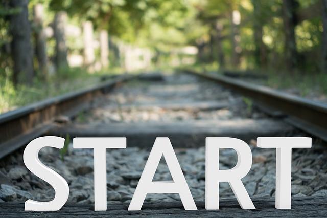 Start - Foto di photogrammer7 da Pixabay