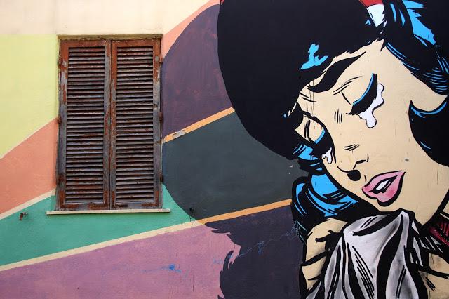 Il quartiere Trullo a Roma dove fotografare splendidi murales