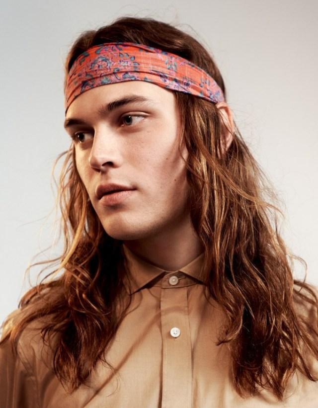 corte de cabelo longo masculino