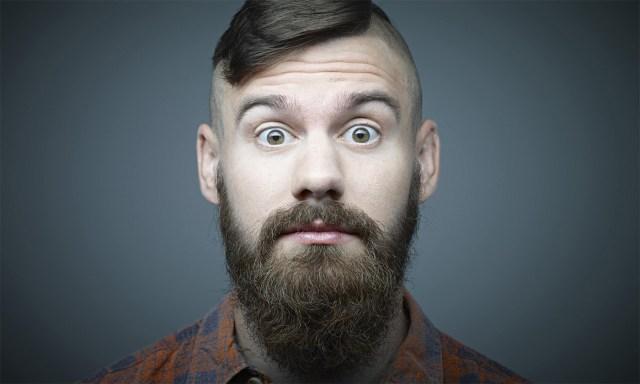 barba cheia e longa