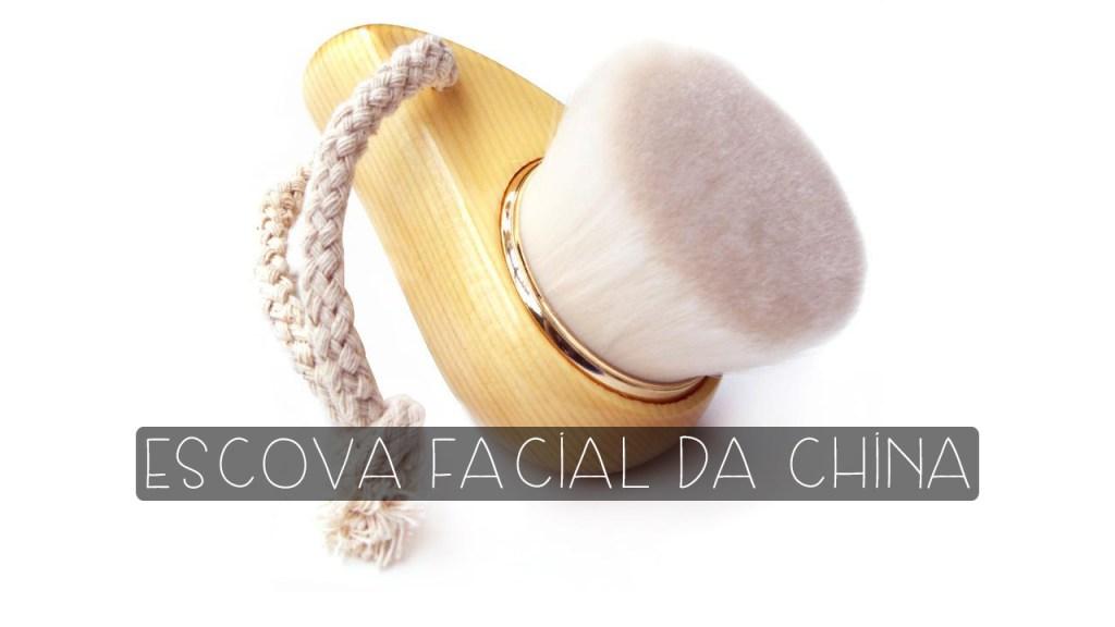 escova de limpeza facial