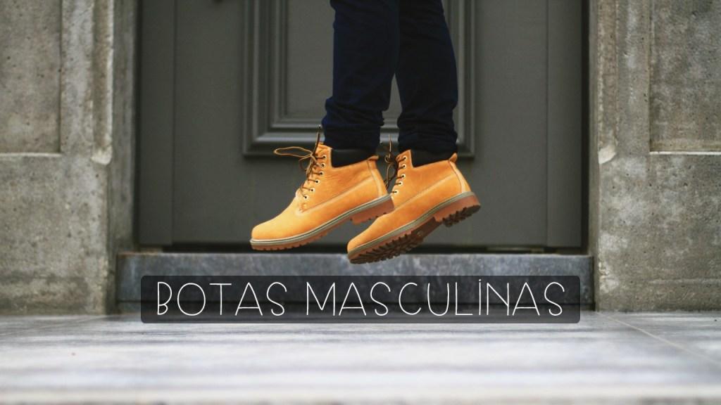 tipos de botas masculinas
