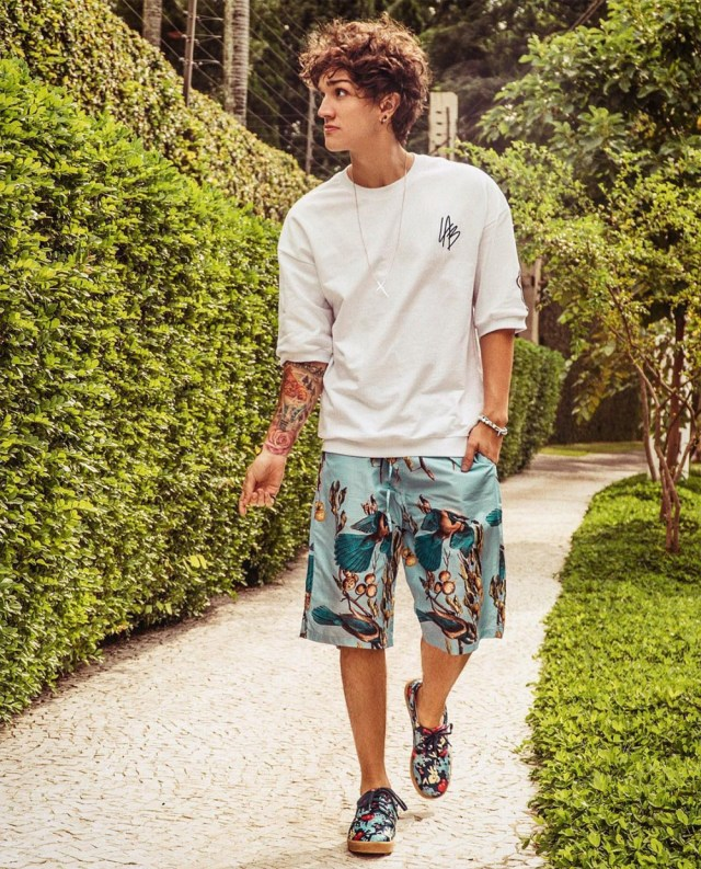 Look outfit masculino para primavera