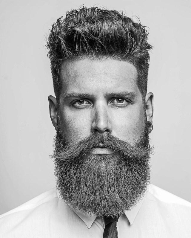 Barba square beard shape