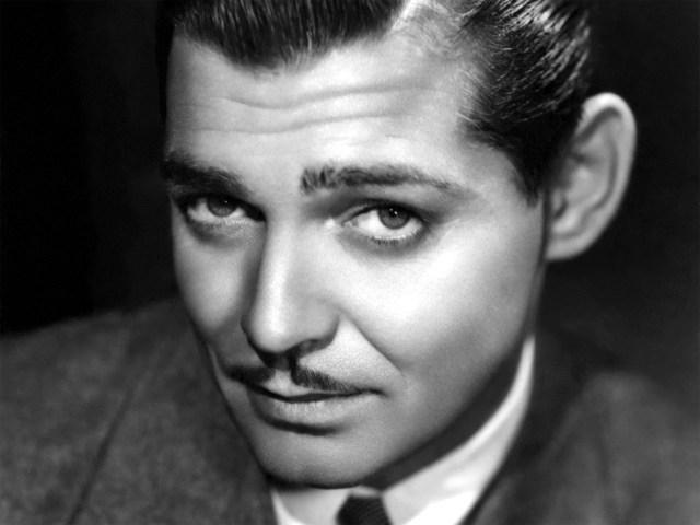 Bigode do ator Clark Gable