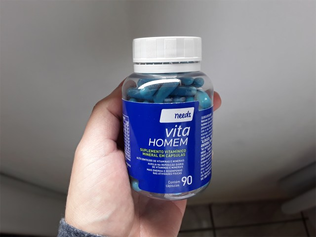Vitamina para homens Needs