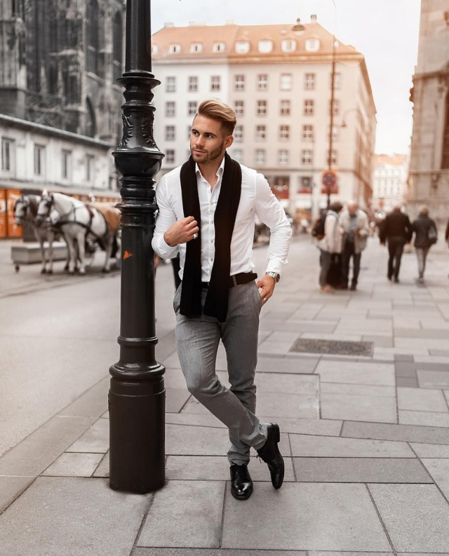 Look masculino casual para usar no trabalho