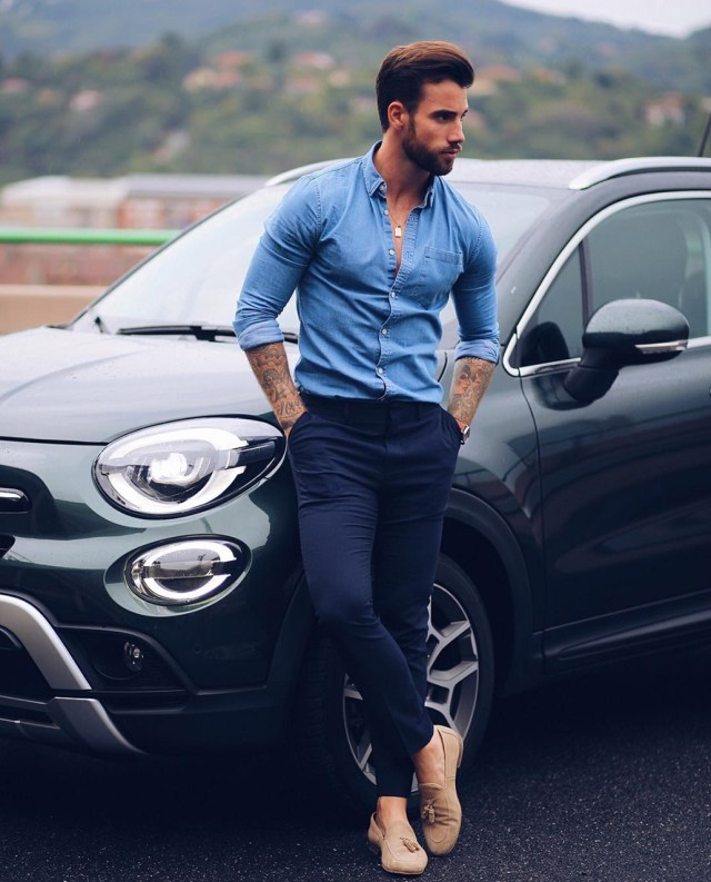 Look masculino casual chic