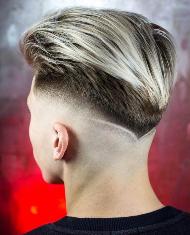Corte de cabelo masculino 2019 V-Shaped Cut