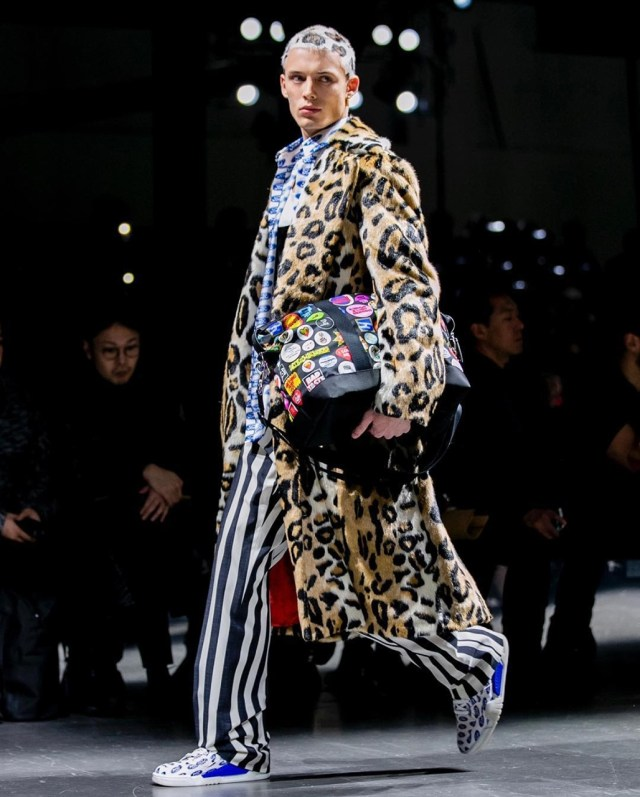 Casaco Versace Animal Print Animale