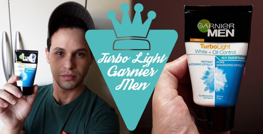 Espuma facial Turbo Light White da Garnier