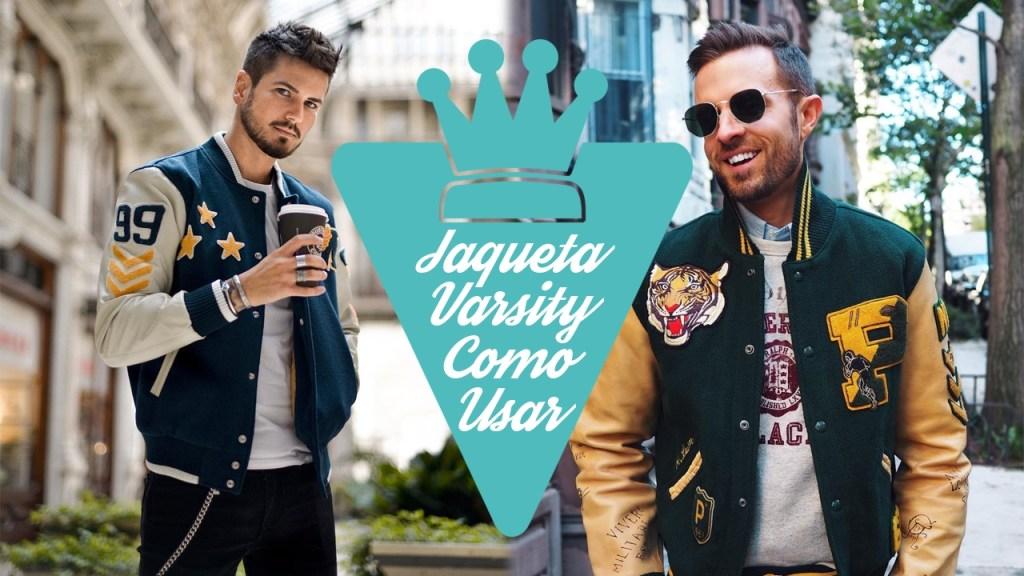 Como usar jaqueta Varsity masculina
