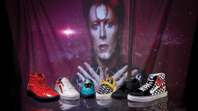 Coleção da Vans inspirada em David Bowie